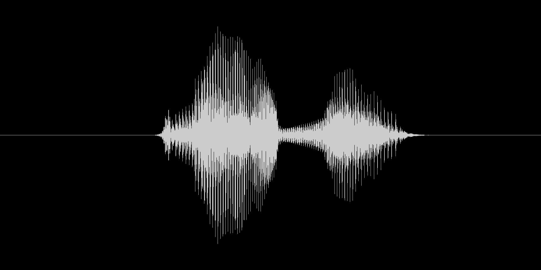 7(数字、女性ver.2)の未再生の波形