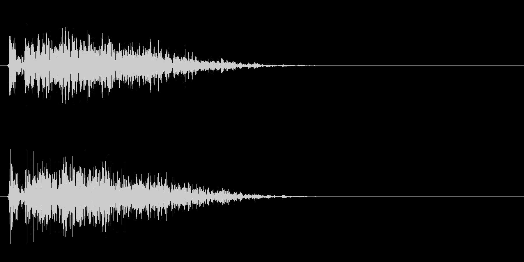 ギィィッ(きしむ音、ホラーゲーム)の未再生の波形