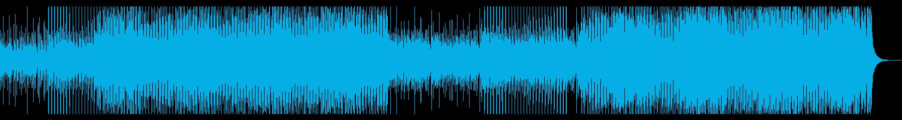 アップビートでハッピーポップの再生済みの波形