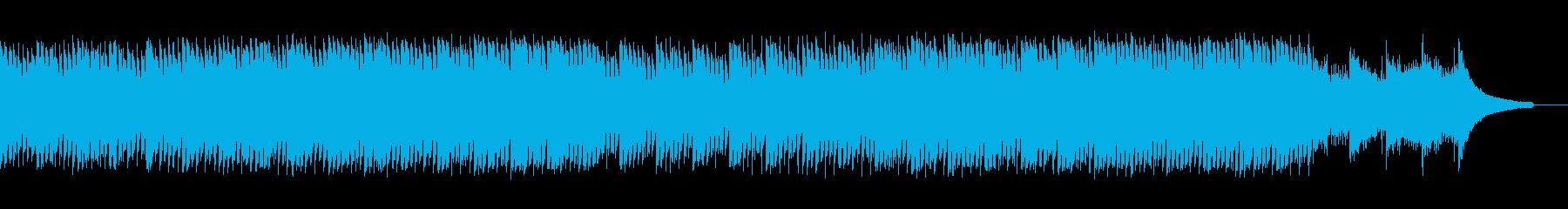 企業VP会社紹介透明感爽やか疾走感A15の再生済みの波形