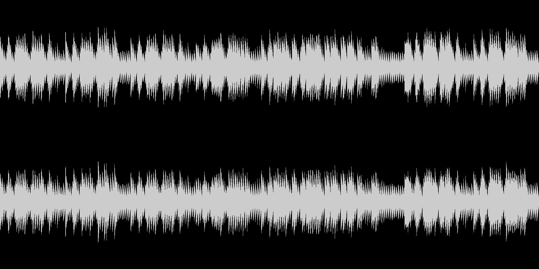 8bitクラシック パヴァーヌ(ループ)の未再生の波形
