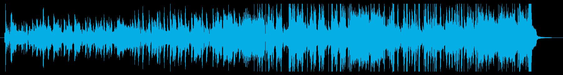 伝統的 ジャズ ビバップ ブルース...の再生済みの波形