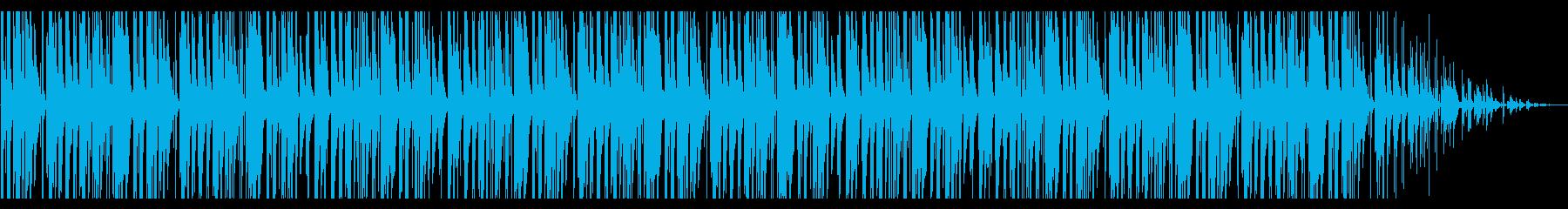ふわふわ/ラフ/レゲエ風_No449の再生済みの波形