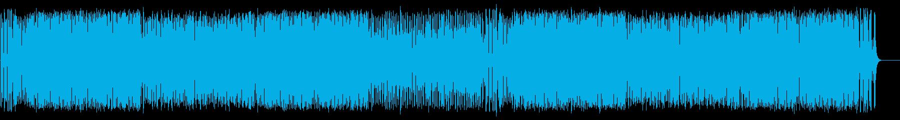 マーチ 鼓笛隊 入場行進 運動会 希望の再生済みの波形