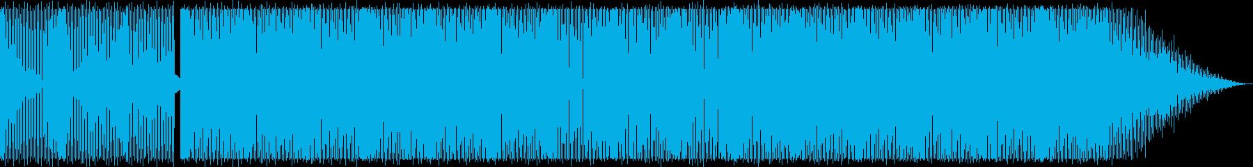 浮遊感/ディープハウス_No444の再生済みの波形