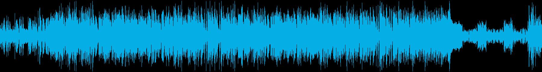 まったり&ちょっと切ないBGMループ仕様の再生済みの波形