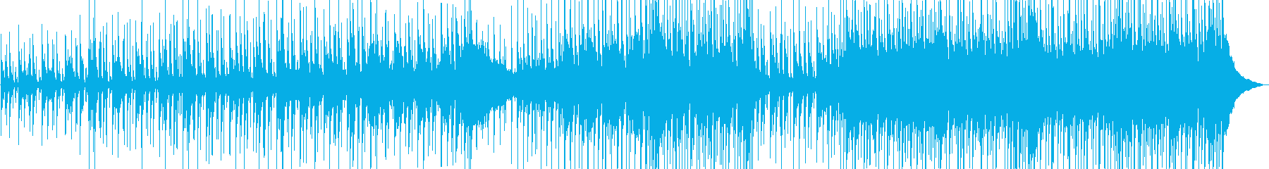 カジュアルで軽快なアコースティックの再生済みの波形