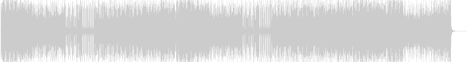 「HR/HM」「ROCK」BGM213の未再生の波形