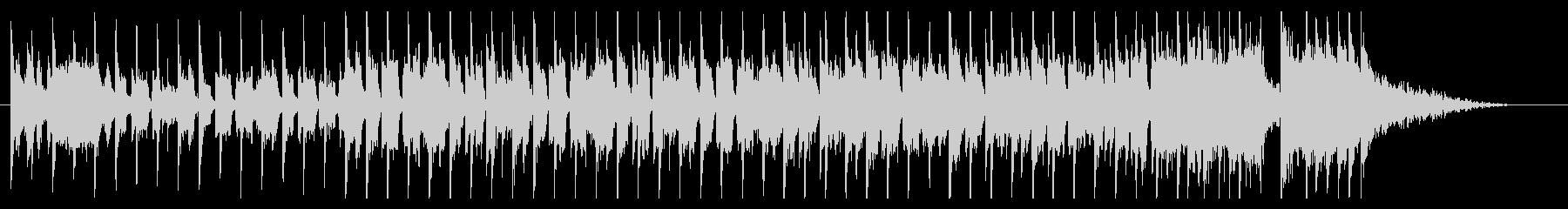 30秒チャレンジBGM/軽快/番組/動画の未再生の波形
