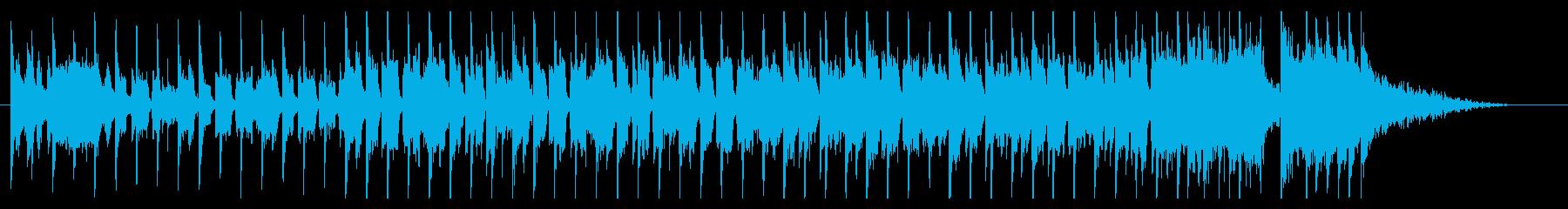 30秒チャレンジBGM/軽快/番組/動画の再生済みの波形