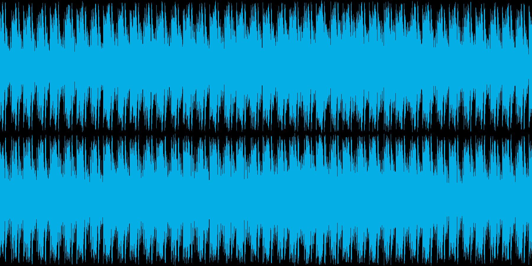 平和で明るめなフィールドBGMの再生済みの波形