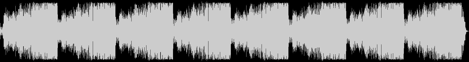 ロングバージョン(11分)の未再生の波形