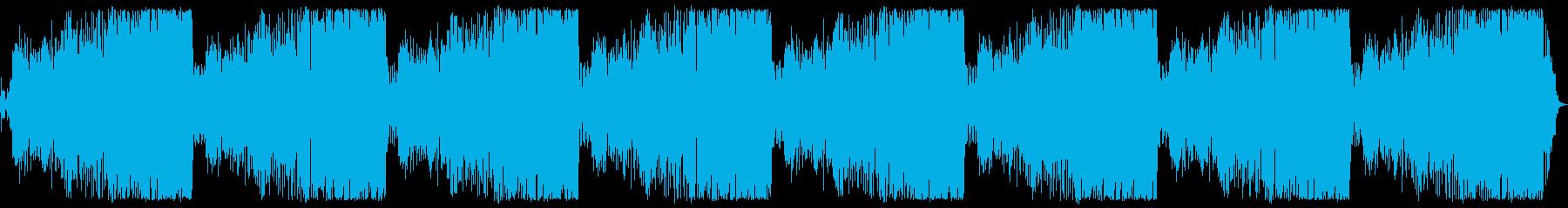 ロングバージョン(11分)の再生済みの波形