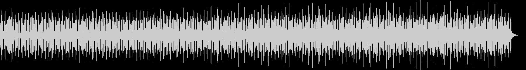 浮遊感あるアーバンなコンピューター曲の未再生の波形