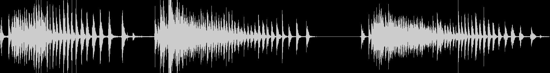 ローラーとクランクチェーン付きプー...の未再生の波形