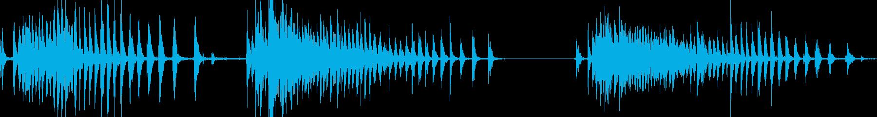 ローラーとクランクチェーン付きプー...の再生済みの波形