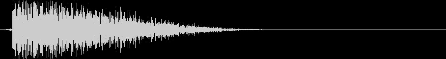 カーソル音_決定音_長調-D-03_の未再生の波形