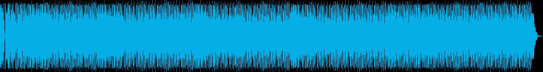 陽気なムードで演奏するポップロック...の再生済みの波形
