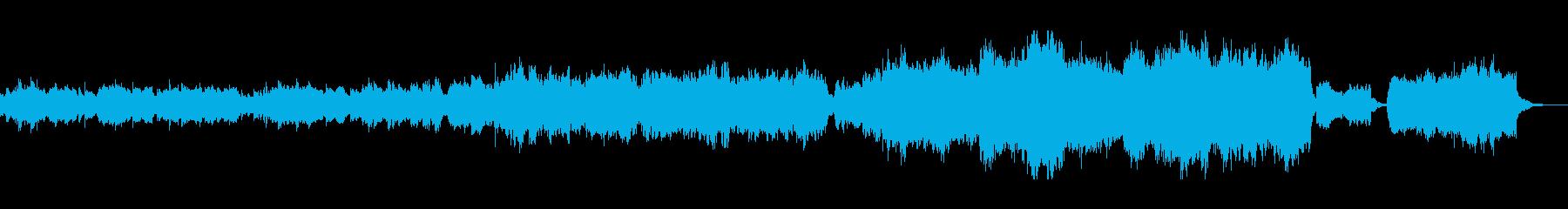 神聖で神秘的なリラクゼーションサウンドの再生済みの波形