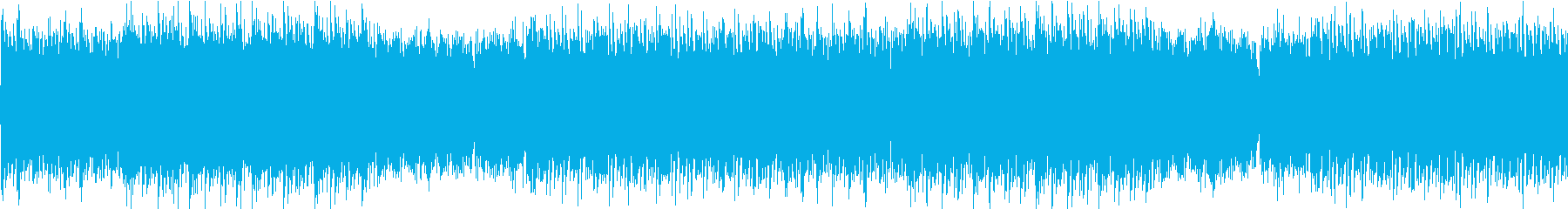 和風テイストの通常戦闘BGMの再生済みの波形