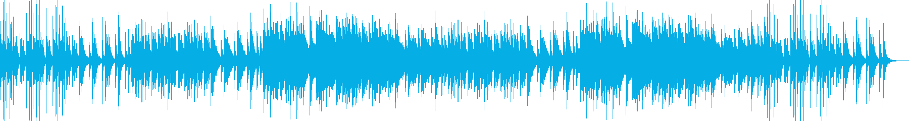 ピアノのフレーズが綺麗で美しい楽曲の再生済みの波形