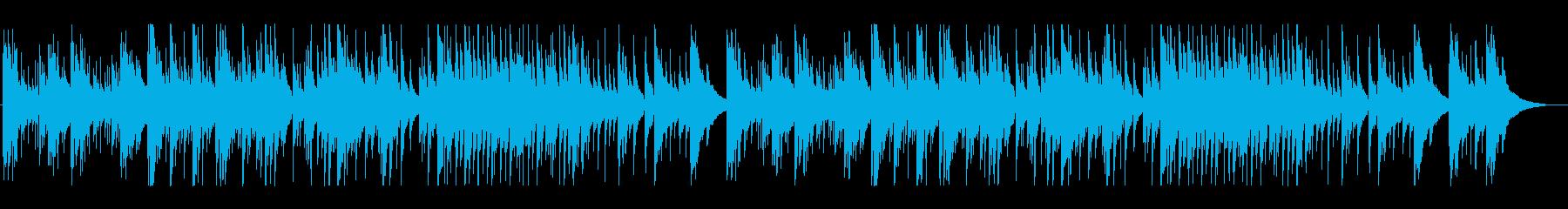 メロディーが印象的なギターソロの再生済みの波形