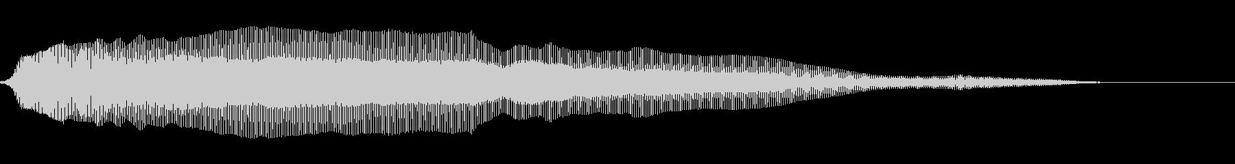 ニャーン 猫の鳴き声(甘え)の未再生の波形