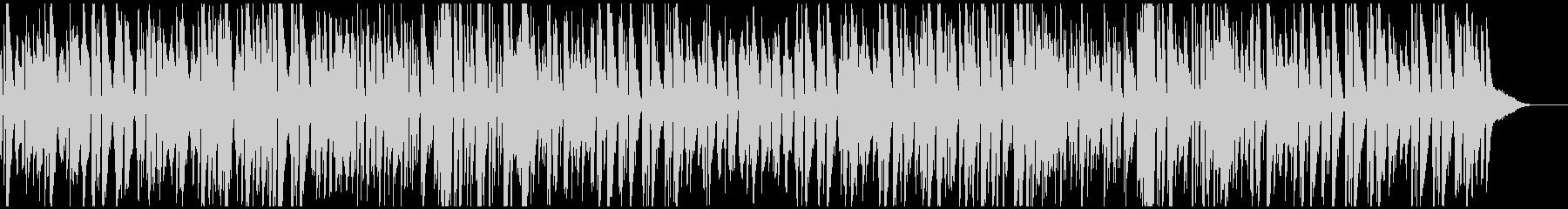 わくわく楽しい冬のピアノジャズトリオの未再生の波形