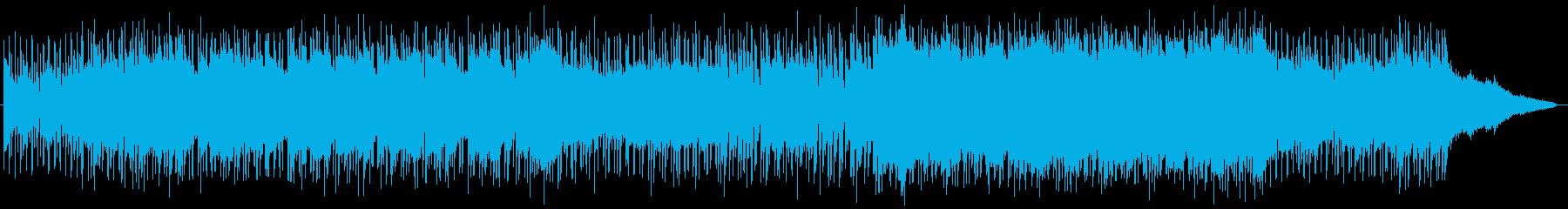 明るく躍動感があるエレクトリック・ポップの再生済みの波形