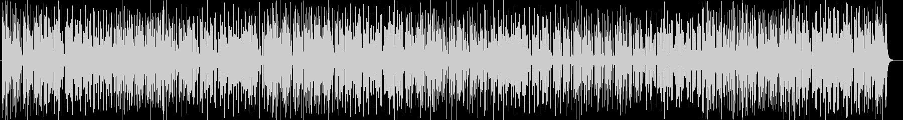アニメ挿入歌のようなシンセサイザー曲の未再生の波形