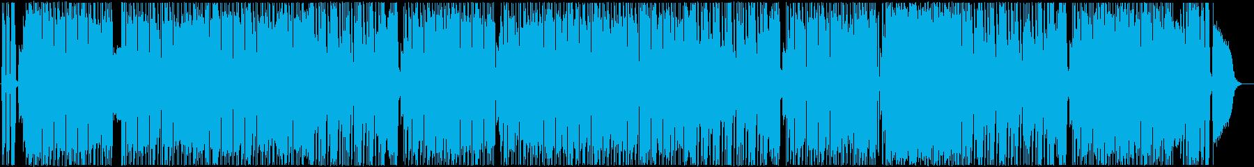 歌謡曲風のギターインスト ロックの再生済みの波形
