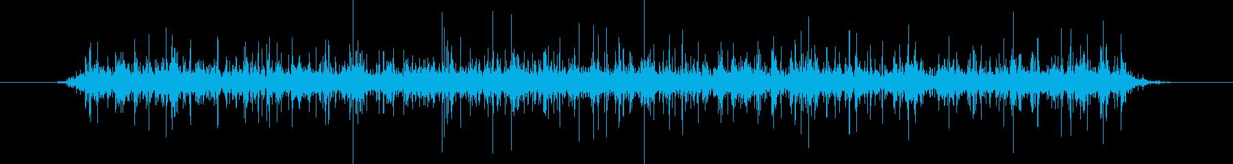 あったかいお鍋のぐつぐつ音(ガスコンロ)の再生済みの波形