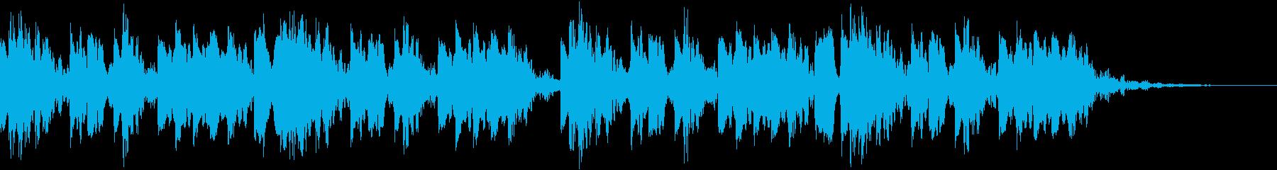 陽気で爽やかな着信音2の再生済みの波形