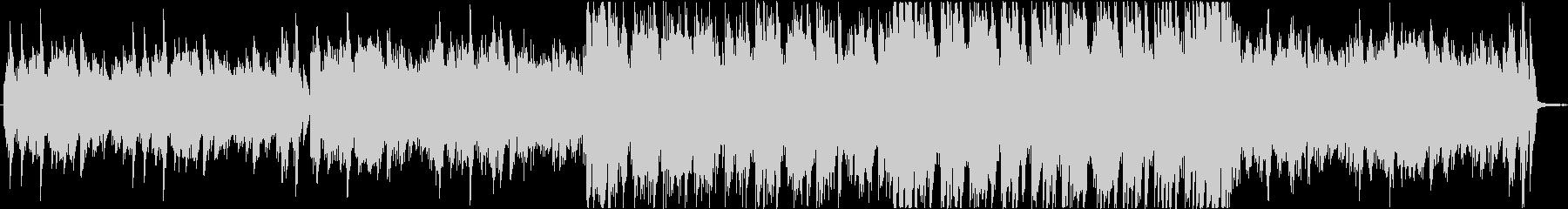 印象的なフレーズに繋がるBGMの未再生の波形