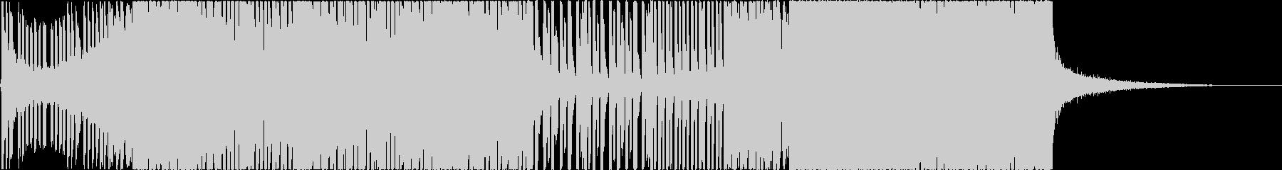 ポップでキラキラしたEDM、映像等にの未再生の波形