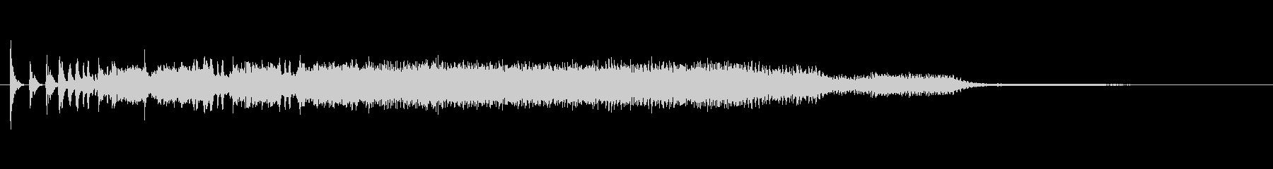不思議な鳴き声の未再生の波形