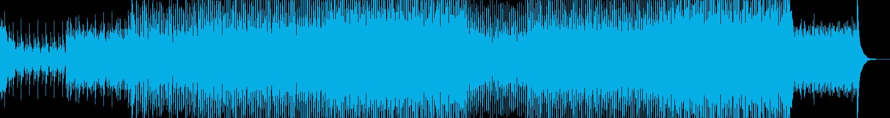 EDM現代的なシンセのクラブ系-06の再生済みの波形