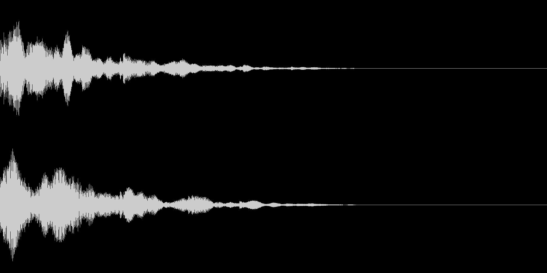 システム音34_Jの未再生の波形
