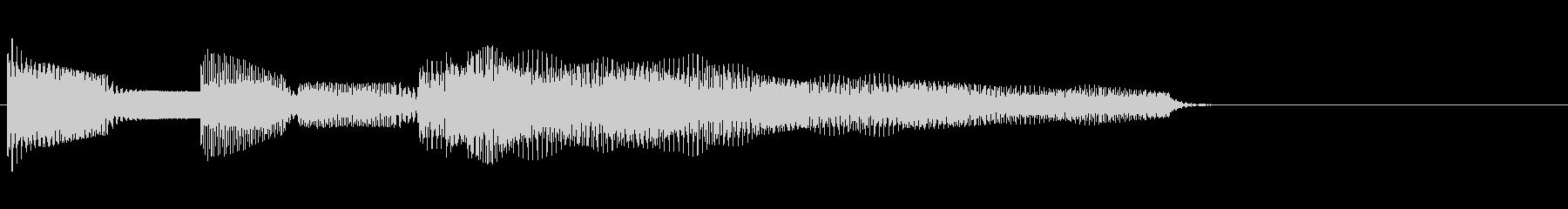 場面転換時の音の未再生の波形