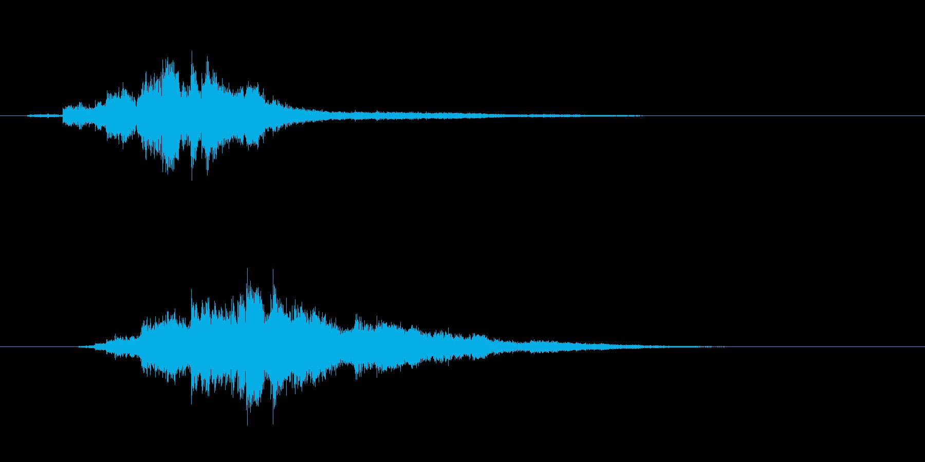 キラりん 魔法・閃光・変身・煌めき左→右の再生済みの波形