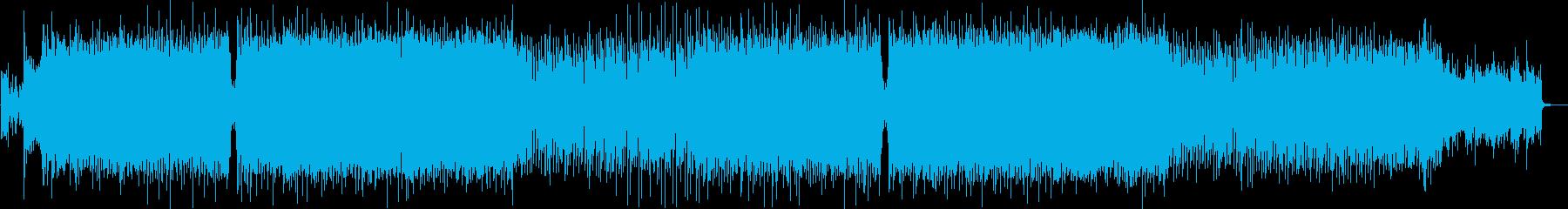 [生演奏]広がりのあるギター×トランスの再生済みの波形