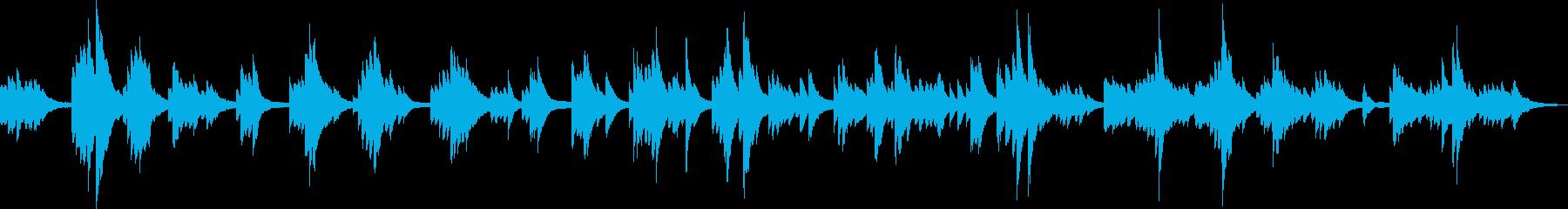 生命の誕生(ピアノソロ曲)の再生済みの波形