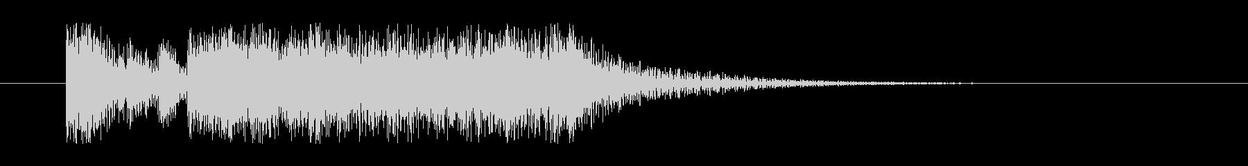 クエストクリアや勝利時のファンファーレの未再生の波形