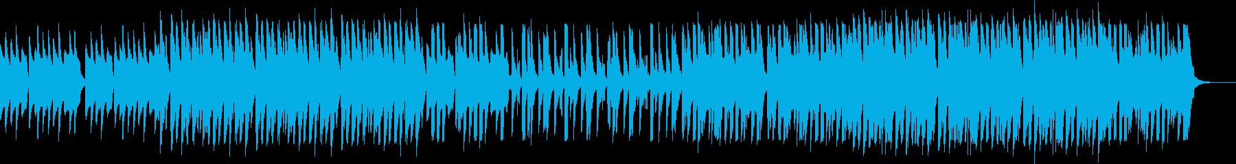 大人なグルーヴ、アーバン・テクノ・ハウスの再生済みの波形