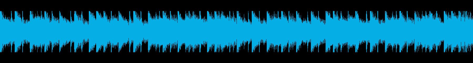 中東アラビア音楽(ループ)の再生済みの波形