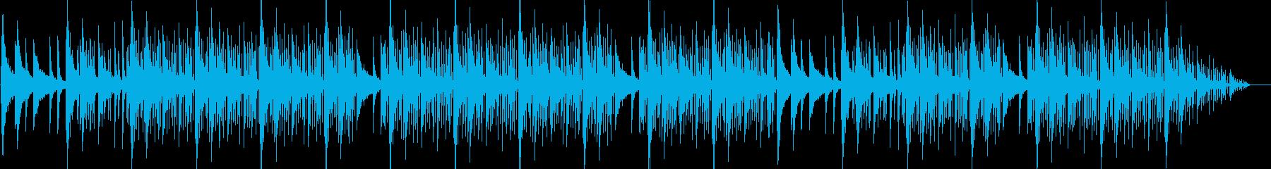 エレクトリックピアノのHiphopの再生済みの波形