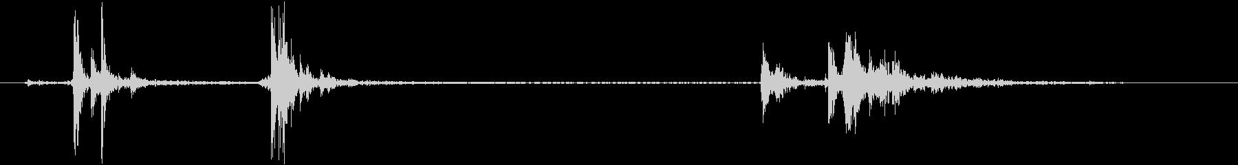プレスバー付きの金属製ロビーエント...の未再生の波形