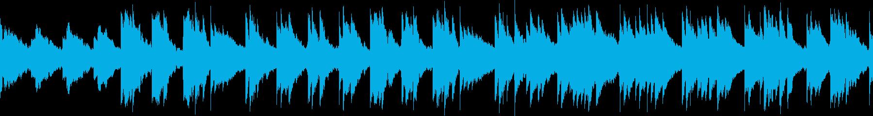 癒やし/アコースティックギター2ループ版の再生済みの波形