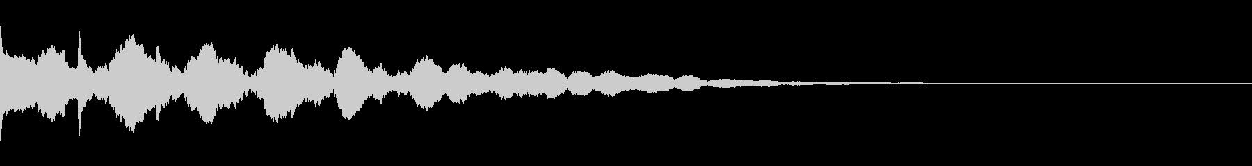 ぽん:疑問に思う時dの未再生の波形
