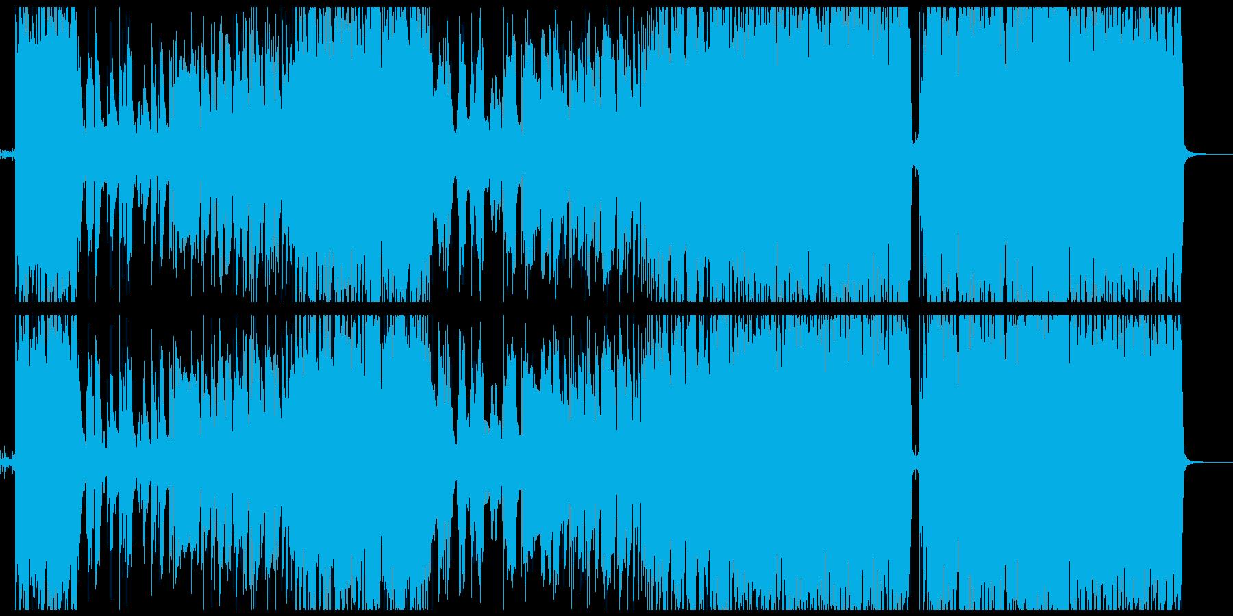 【英語】映画・ドラマ主題歌 壮大なロックの再生済みの波形